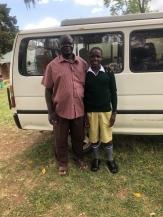 Emmanuel with Pastor Tonny